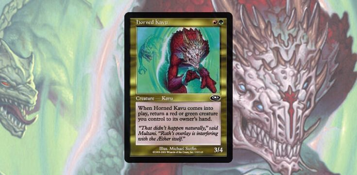 Pauper card tech Horned kKavu