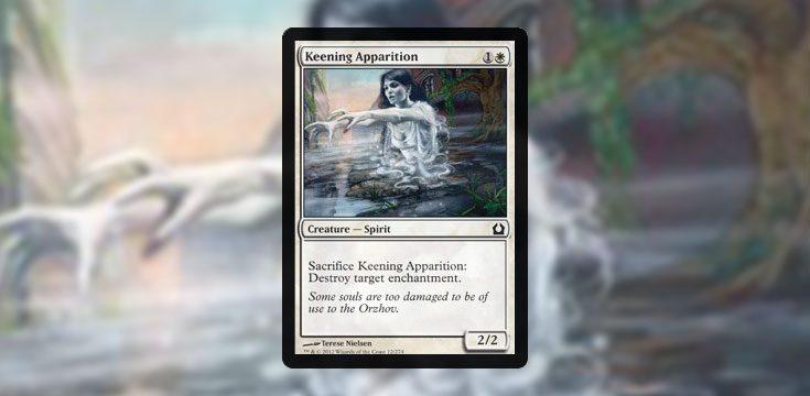 Pauper card tech Keening Apparition