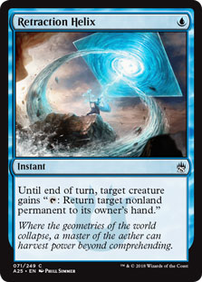 pauper cards retraction-helix