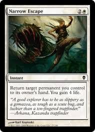 Pauper cards narrow scape