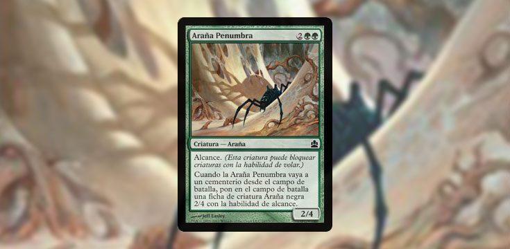 Pauper card tech Penumbra Spider
