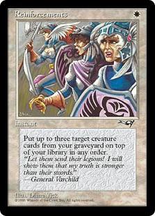 pauper cards reinforcements