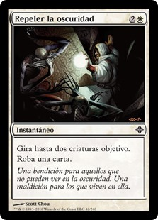pauper cards repel the darkness